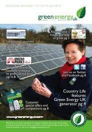 Shareholder Newsletter - Green Energy UK