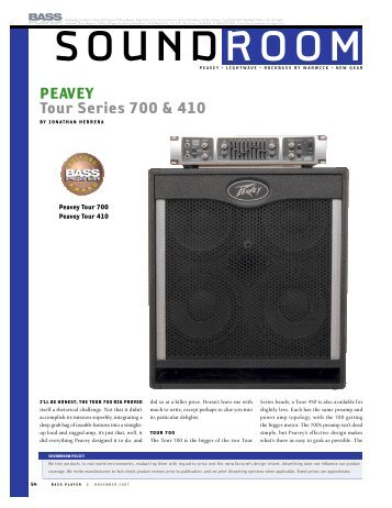sound ro om - Peavey