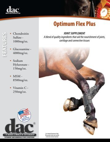 Optimum Flex Plus Data Sheet - Direct Action Company