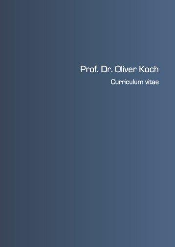 Prof. Dr. Oliver Koch - Private Berufsakademie Fulda
