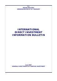 July - Republic of Turkey Ministry of Economy