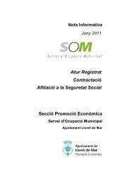 Juny 2011 - Ajuntament de Lloret de Mar