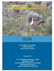 Download full 2005 Breeding Bird Survey report - GSS ESER Program