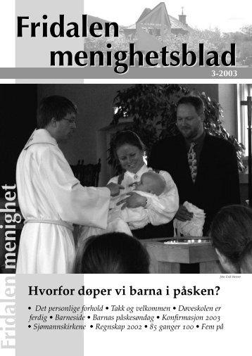 Fridalen menighet - Mediamannen