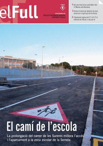 el full 269 desembre 2010 - Ajuntament d'Alella