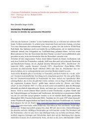 Vernetztes Probehandeln. Literatur im Zeitalter der permanenten ...