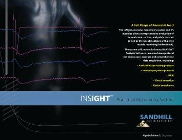 INSIGHT™ - Sandhill Scientific