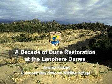 A Decade of Dune Restoration at the Lanphere Dunes - Cal-IPC