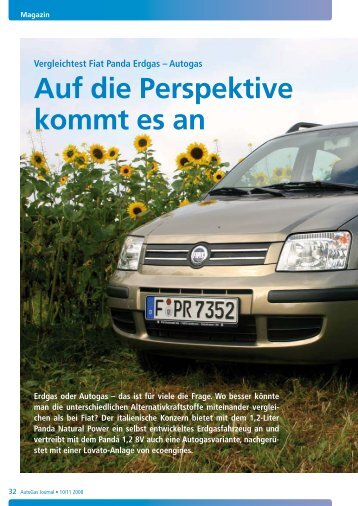 Autogas Auf Die Perspektive Kommt Es An