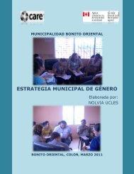 ESTRATEGIA MUNICIPAL DE GÉNERO - Pasos Honduras