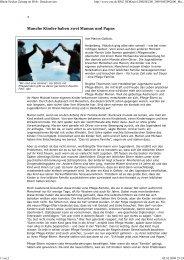 Rhein-Neckar-Zeitung im Web... - Regenbogenfamilie