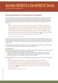 Australian ANTARCTIC & Sub-ANTARCTIC Tourism - Sustainable ... - Page 4