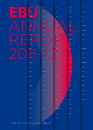 EBU Annual Report 2011/2012
