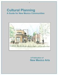 Cultural Planning - New Mexico Arts