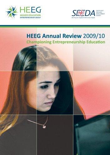 Annual Review 09/10 - HEEG :: Higher Education Entrepreneurship ...
