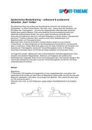 Spielerisches Muskeltraining – aufbauend ... - Sport-Thieme