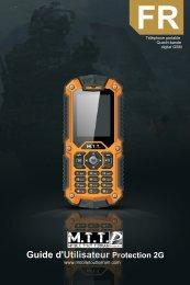 Guide d'Utilisateur Protection 2G - Mobile Tout Terrain