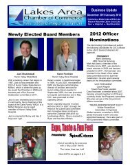 Newly Elected Board Members 2012 Officer Nominations