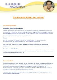 Das Burnout Risiko, wer und wo PDF