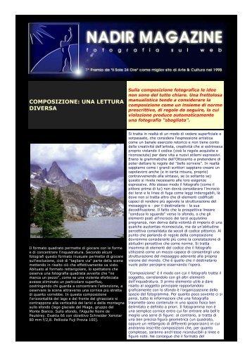 COMPOSIZIONE: UNA LETTURA DIVERSA - Michele Vacchiano