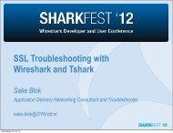 Common SSL problems I - Sharkfest - Wireshark