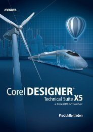 Corel DESIGNER ® Technical Suite X5 Produktleitfaden - Kothes!
