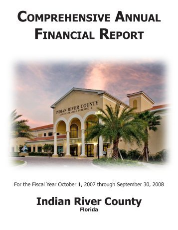 2007 - 2008 Cafr - Indian River County Clerk of the Circuit Court