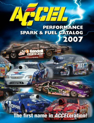 to download an Accel DFI product catalog - efisupply.com