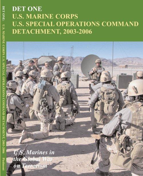 MC-6 US MARINE CORPS RECON PATCH