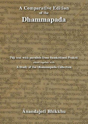 The Comparative Dhammapada - Ancient Buddhist Texts