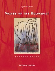 The Voices of the Holocaust - Perfection Learning