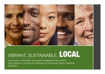 VCS leaflet - Luton Borough Council