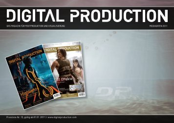 DIGITAL PRODUCTION - Das Magazin für Postproduktion und ...