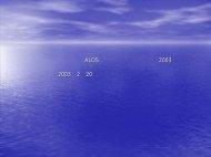 リモートセンシングによる サンゴ礁モニタリング - 地球観測研究センター