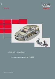 285 Selbststudienprogramm 285 Fahrwerk im Audi ... - VolksPage.Net