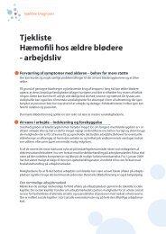 arbejdsliv - Danmarks Bløderforening.