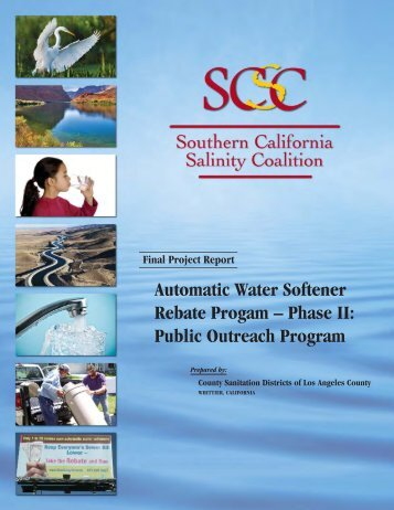 Automatic Water Softener Rebate Program-Phase II - Southern ...