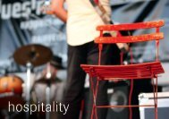 hospitality - Blues 'n' Jazz Festival