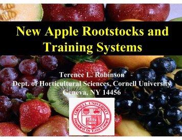 New Apple Rootstocks and Training Systems - Utahhort.org