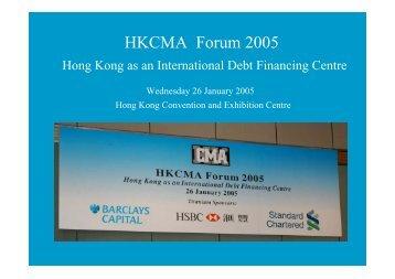 Photos - The Hong Kong Capital Markets Association