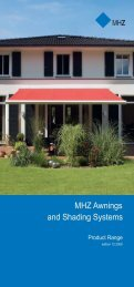 MHZ Awnings and Shading Systems - Krassky