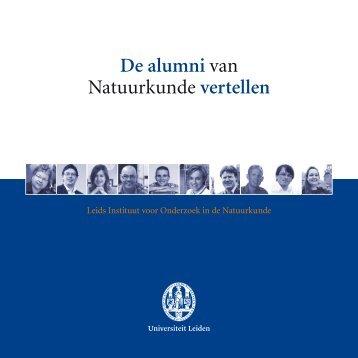 De alumni van Natuurkunde vertellen - Faculteit der Wiskunde en ...