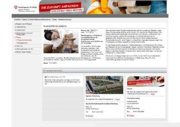 Kunst und Design studieren - Arbeitsamt Oldenburg/ Wilhelmshaven
