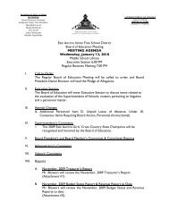 East Aurora Union Free School District Board of Education Meeting ...