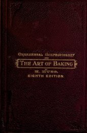 Ornamental confectionery and the art of baking in all its branches