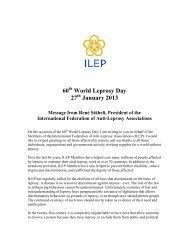 60 World Leprosy Day 27 January 2013 - Aifo