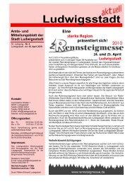 Mitteilungsblatt April - Ludwigsstadt