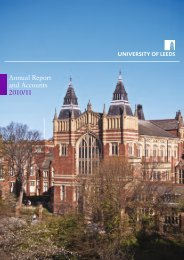 Annual Report and Accounts 2010/11 - University of Leeds