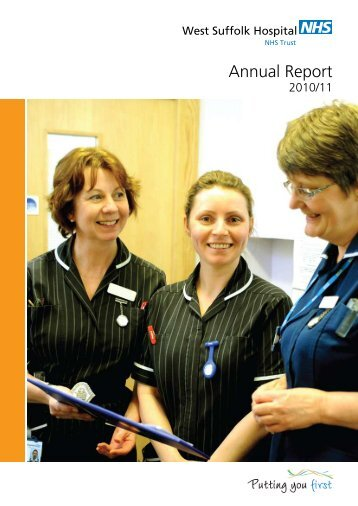 Annual Report 2011 - West Suffolk Hospital