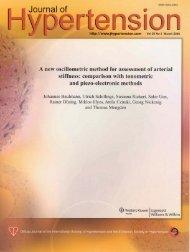 A new oscillometric method for assessment of arterial stiffness ...